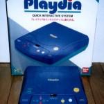 Playdia, console particolare con giochi stile laser