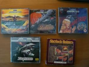 La mia collezione di giochi mega cd: Night Trap è quello che amo di più!