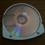 Retro dei dischi UMD